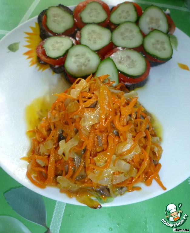 Блюда салаты и закуски с