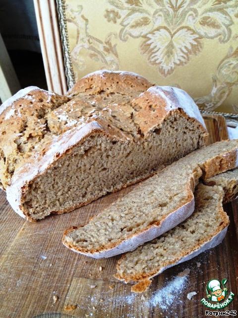 Быстрый хлеб рецепт с фото