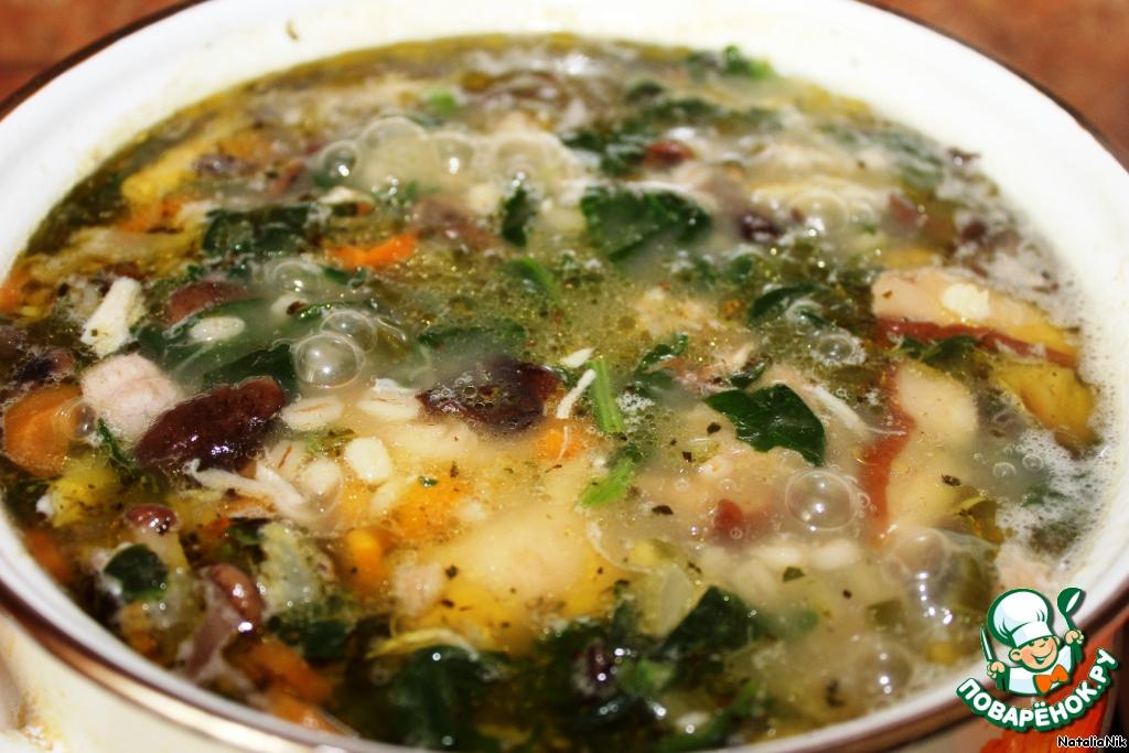 Как сварить суп с сельдереем
