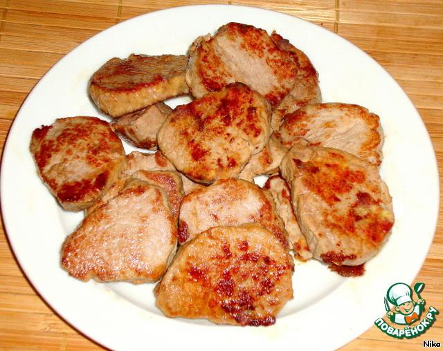 Медальоны из свинины рецепт на сковороде