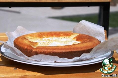 Большая ватрушка рецепт фото пошагово