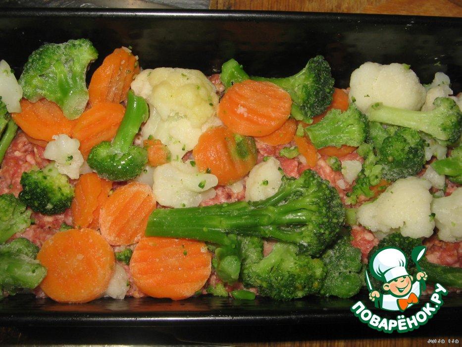 как приготовить брокколи замороженную и цветную капусту