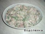 Мясо по-грузински Сметана