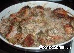 Мясо по-грузински Зелень
