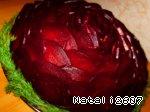 Салат «Багряная роза» Картофель