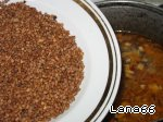 Гречневый суп с  шампиньонами Помидор