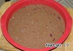 Постный шоколадно-вишневый пирог Вишня