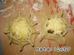 Сырные волованы «Звездный дуэт» Лук репчатый