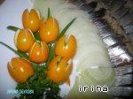 Селедка и картошка, запеченные в кульке в микроволновке