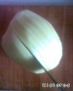 Картофельные веера с сыром ингредиенты