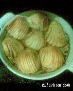 Картофельные веера с сыром Соль