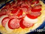 """Самая лучшая пицца """"А-ля пеперони.. . double cheese"""" Лук репчатый"""