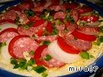 """Самая лучшая пицца """"А-ля пеперони.. . double cheese"""" Перец болгарский"""