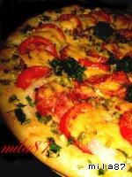 """Самая лучшая пицца """"А-ля пеперони.. . double cheese"""" Майоран"""