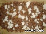 Мясной пирог с баклажанами и фетой ингредиенты