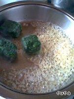Рыбные рулетики со шпинатом и сыром Филе рыбное