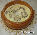 Сырники в маковом соусе Сахар