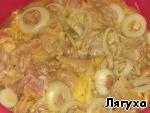 Куриный шашлык с картошкой в духовке ингредиенты