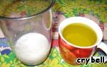 Домашний майонез на молоке ингредиенты