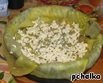 """Капустно-лавашный """"пирог"""" с мясом Сыр плавленый"""
