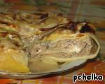 """Капустно-лавашный """"пирог"""" с мясом Специи"""