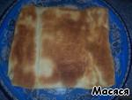 Закусочный торт из слоеного теста Грибы
