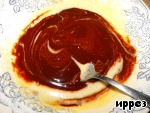 фото Шоколадное горячее пирожное с жидкой начинкой