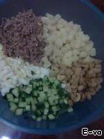 """Салат """"Сосновый бор"""" ингредиенты"""