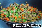 Пирог-запеканка с курицей, грибами и овощами ингредиенты