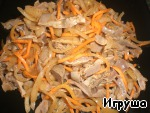 Острый салат из куриных желудочков ингредиенты