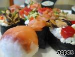 "Маки, суши и ролл ""Мозаика"" ингредиенты"