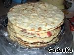 """Торт слоеный сливочный """"Сашка"""" ингредиенты"""