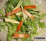 Теплый салат с куриной печенью и шампиньонами ингредиенты