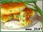 Оладьи на кефире с зеленым луком ингредиенты