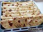 Татарские кыстыбый с двумя видами начинок ингредиенты