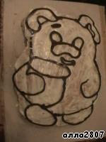Кусок торт из конфет фото 5