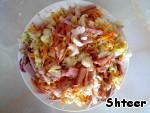 Вкусный салатик Будничный ингредиенты