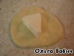 Лепешки с плавленными сырками Масло сливочное