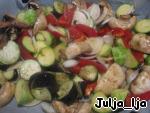 Запечeнные овощи во вкуснейшем маринаде Кабачок