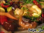 Запечeнные овощи во вкуснейшем маринаде Баклажан