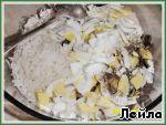Крабовый салат с грибами ингредиенты