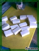 Закусочные маффины Зеленые ингредиенты