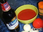 Баранина в пиве и томатах ингредиенты