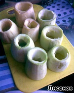 Фаршированные кабачки из пароварки ингредиенты