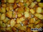 """Окорочка, запеченные в духовке с картошкой """"По-домашнему"""" ингредиенты"""