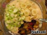 Бисквитный пирог с фруктами ингредиенты