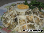 """Салат из баклажан """"Интересный"""" Баклажан"""