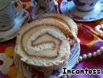 Бисквитный рулет с масляным кремом ингредиенты