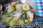Бархатный крем-суп с лососем ингредиенты