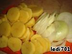 Тушеная рыба с картофелем ингредиенты